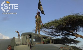Shabaab Media Unit Publishes Photos from Ceel-Saliini Base Raid, Shows Dead Soldiers and POW