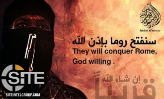 IS-aligned Group Depicts Vatican City in Poster Threatening Conquest of Rome