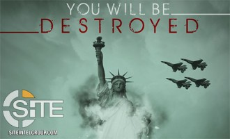 "IS-aligned Group Declares ""You Will be Destroyed"" as it Depicts Destruction of Statue of Liberty"
