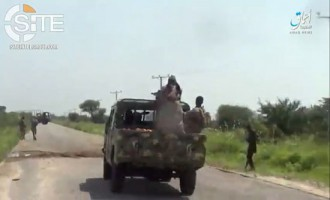 'Amaq Video Shows Scenes from ISWAP Ambush Near Maiduguri Killing 8 Nigerian Soldiers