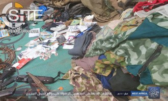 Boko Haram Claims Attack in Bama, Displays War Spoils