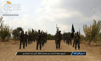 AQ-aligned Group in Syria Photographs Graduates of Military Camp Named in Honor of Jihadi Veteran