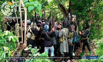 "Fighters in IS' East Asia Province Photographed Pledging to New ""Caliph"""