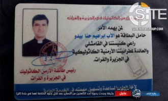 IS Claims Credit for Murdering Armenian Priest and His Father in Deir al-Zour