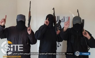 "IS Azerbaijan Fighters Pledge Allegiance to New ""Caliph"""