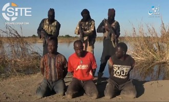 ISWAP Executes 3 Nigerian Policemen Captured in Borno in 'Amaq Video