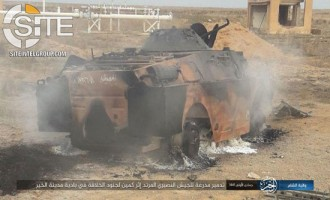 IS Claims Killing 15 Syrian Troops in Deir al-Zour Desert, Documents Enemy Losses with Photos