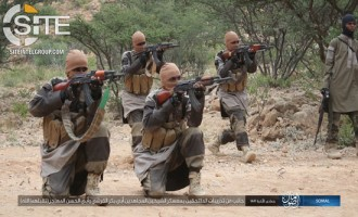 IS Photo Report Documents Military Training of Fighters in Somalia