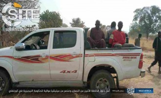 ISWAP Gives Photo Documentation of POWs and War Spoils from Raid in Borno