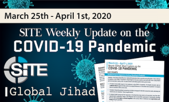 Recent Global Jihad Updates on the COVID-19 Pandemic: March 25-April 1, 2020