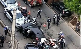IS Supporters Promote Vehicular Attack in Colombes