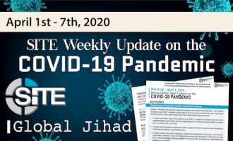 Recent Global Jihad Updates on the COVID-19 Pandemic: April 1-7, 2020