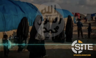 IS-aligned English-Speaking Woman in Syria's al-Hawl Camp Urges Men to Fight against Democracy