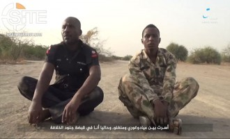 'Amaq Video Shows ISWAP Execution of Captive Nigerian Policeman and Soldier
