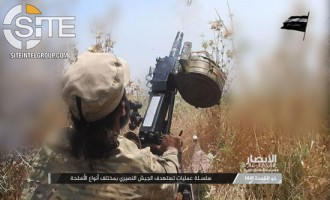 Ansar al-Islam Documents Projectile Attacks on SAA Positions in Northwestern Hama