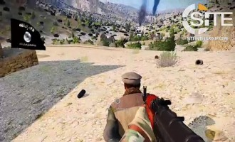 "As ""Homage"" to ISKP, Jihadist Uses Video Game Recordings to Show Imagined Attacks in Afghanistan"