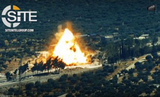 Khattab al-Shishani Brigades Releases Video of Suicide Bombing on Russian-Turkish Patrol on M4 Highway