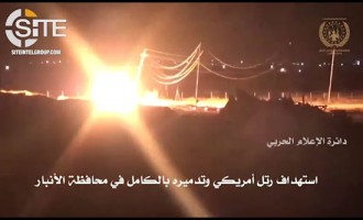 Shi'a Militant Group Ashab al-Kahf Claims Bombing U.S. Convoy in Anbar, Provides Video Documentation