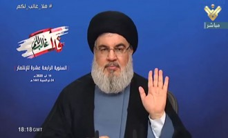 Hezbollah Leader Nasrallah Portrays UAE-Israel Normalization as Revealing Friend from Foe