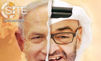 IS-aligned Group Equates Abu Dhabi Crown Prince to Israeli Prime Minister