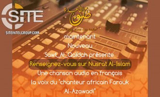 Pro-AQ Media Unit Releases French Chant Promoting Jihad, Rallying AQ Fighters