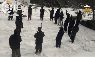 Afghan Taliban Video Documents Training of Fighters in Snow-Covered Camp in Nangarhar