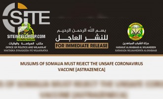 Shabaab Asks Somalis to Reject AstraZeneca's COVID-19 Vaccine