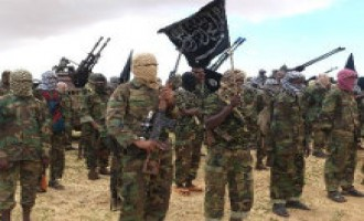 Shabaab Holds Military Parade in Lower Shabelle