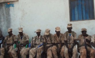 "Shabaab Video Shows Ceremony for ""Repentance"" of 8 Somali Soldiers"