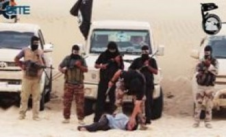 Ansar Beit al-Maqdis Interrogates Mossad Spies, Beheads Them in Video