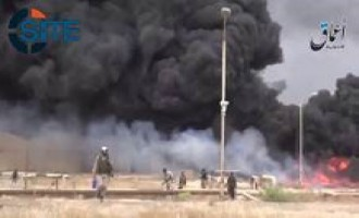IS-linked 'Amaq News Agency Releases Video of Clashes in Beiji Refinery