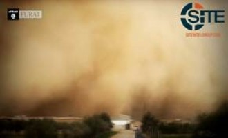 IS Media Affiliate Video Portrays Sandstorm Leading to IS Success in Shaddadi as Support from God
