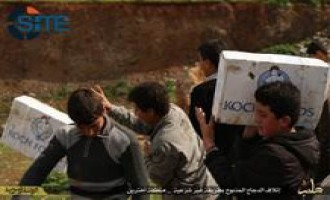 IS Division in Aleppo Destroys Chicken from U.S. Based Company