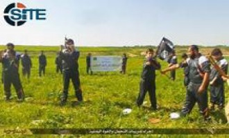 IS Photo Report Shows Training at Abu Ahmed al-Jabouri Camp in Ninawa