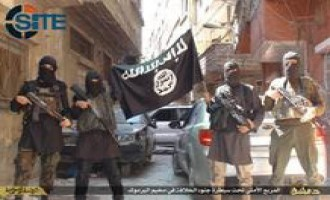 IS Publishes Photo Report on Fighters in al-Yarmouk Palestinian Refugee Camp in Damascus