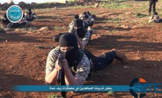 Nusra Front Publishes Photos of Training Camp in Hama