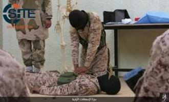 IS Division in Libya Shows Military, First Aid Training of Fighters in Photos