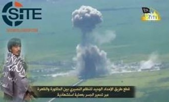 TIP Claims Joint Attack with Jund al-Aqsa in Sahl al-Ghab, Gives Video of Suicide Bombing by Uyghur Fighter