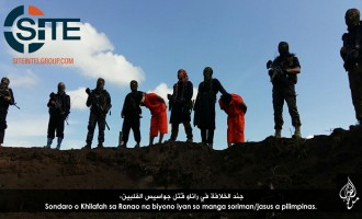 IS Fighters in Ranao (Philippines) Behead Two Spies in Photos