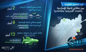 IS' 'Amaq News Agency Publishes Infographic Downplaying MOAB's Impact