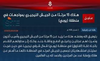 IS' West Africa Province Claims Two Suicide Bombings, Clash in Northeast Nigeria