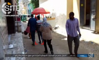 IS Shows Assassination of Somali Intel Agent in Mogadishu in Photos