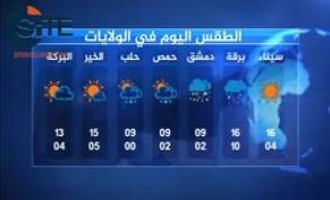 "In Helping the ""Caliphate,"" Jihadist Makes Weather Forecast Video for IS Provinces"