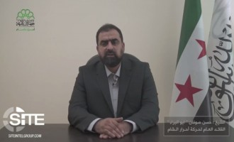 Ahrar al-Sham's New Leader Expresses Readiness to Work with Rebel Groups against Common Enemy in First Address