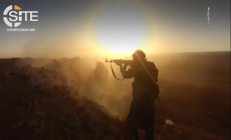 IS Releases Video on Storming Syrian Army and Hezbollah Positions on Iraq-Syria Border Just Five Days Prior
