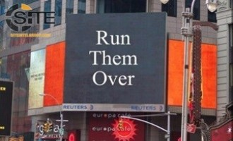 "Image Disseminated on Pro-IS Chat Groups Shows Times Square, Instructs: ""Run Them Over"""