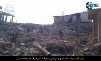 Al-Nusra Front Claims Suicide Bombing in al-Qusayr, Promises More