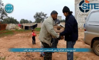Al-Nusra Front Publishes Photos of Food Distribution in Idlib