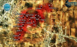 Al-Nusra Front Releases Photos of Attack in Idlib, Map of Controlled Areas