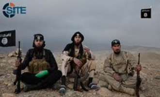 IS Fighters in Ninawa Challenge Obama in Video, Rally for Jihad